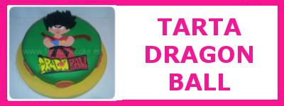 TARTA DRAGÓN BALL