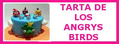 TARTA DE LOS ANGRY BIRDS