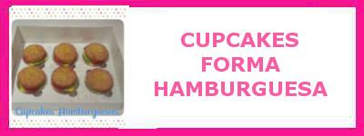 CUPCAKES HAMBURGUESA