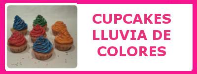 CUPCAKES LLUVIA DE COLORES