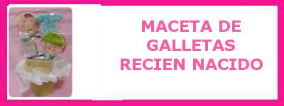 MACETA DE GALLETAS RECIEN NACIDO