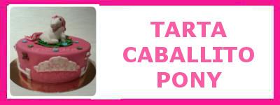 TARTA CABALLITO PONY