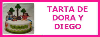 TARTA DORA Y DIEGO