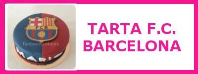 TARTA F.C. BARCELONA