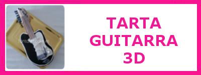 TARTA GUITARRA 3D