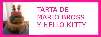 TARTA MARIO Y KITTY