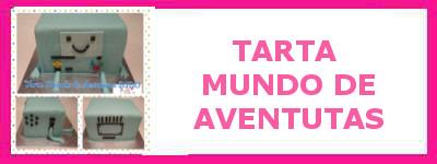 TARTA MUNDO DE AVENTURAS