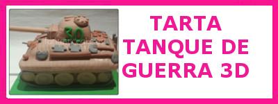 TARTA TANQUE DE GUERRA