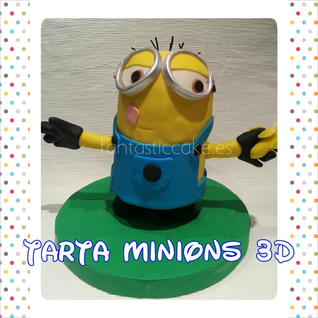 Tarta Minions 3D
