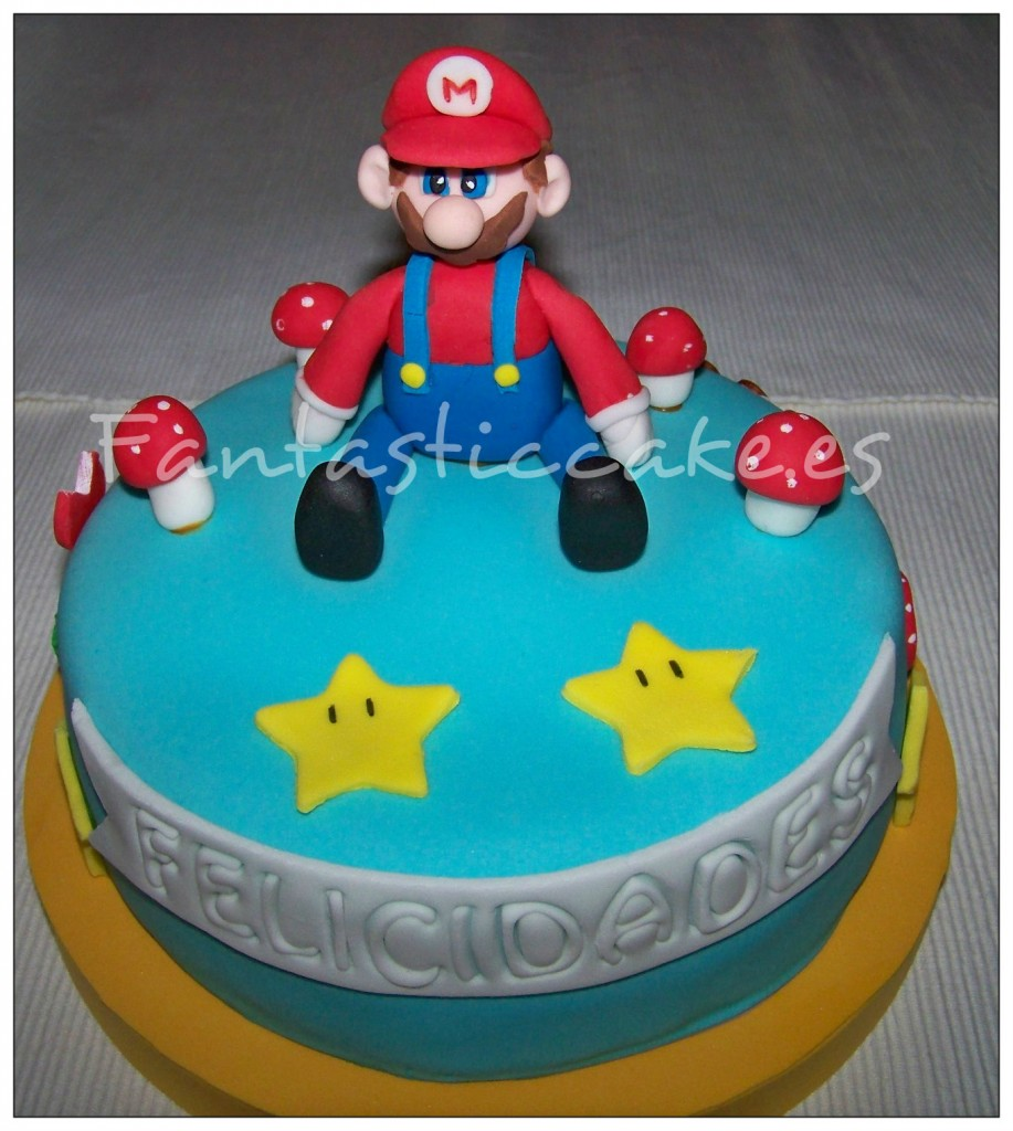 Tarta Mario Bross