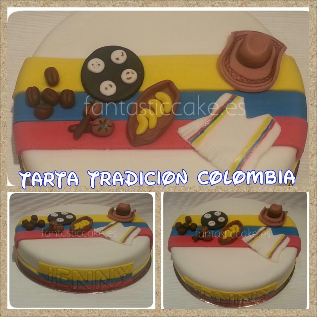 Tarta colombia