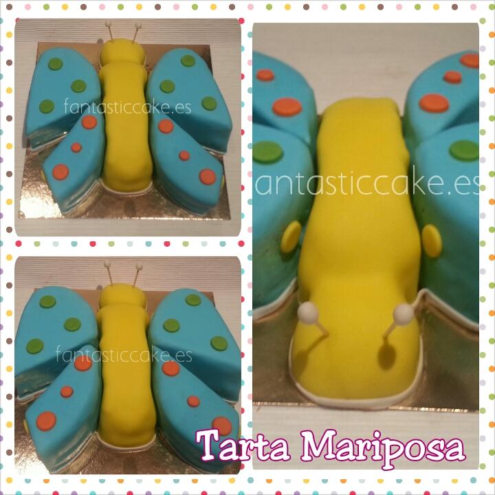 tarta mariposa