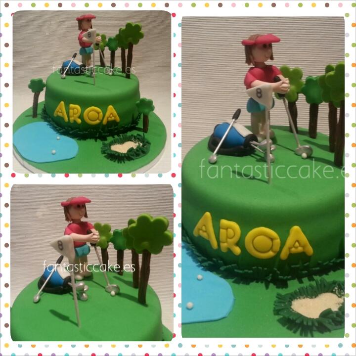 Tarta de Golf