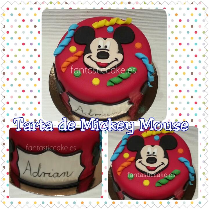 Tarta de Mickey Mouse