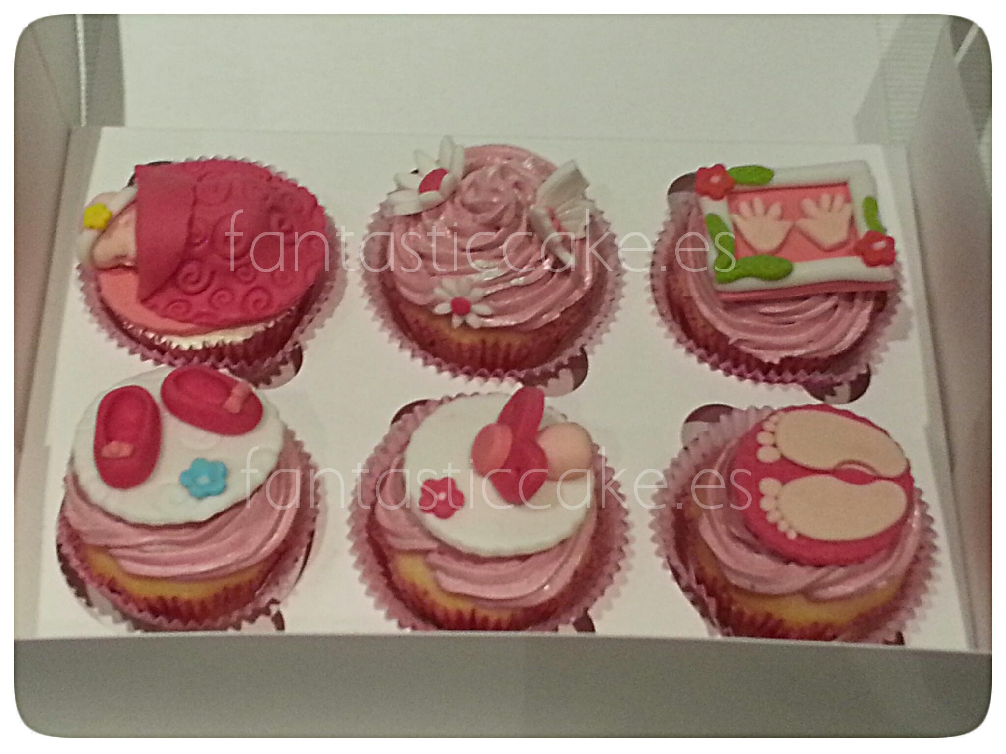 cupcakes tematica bebe