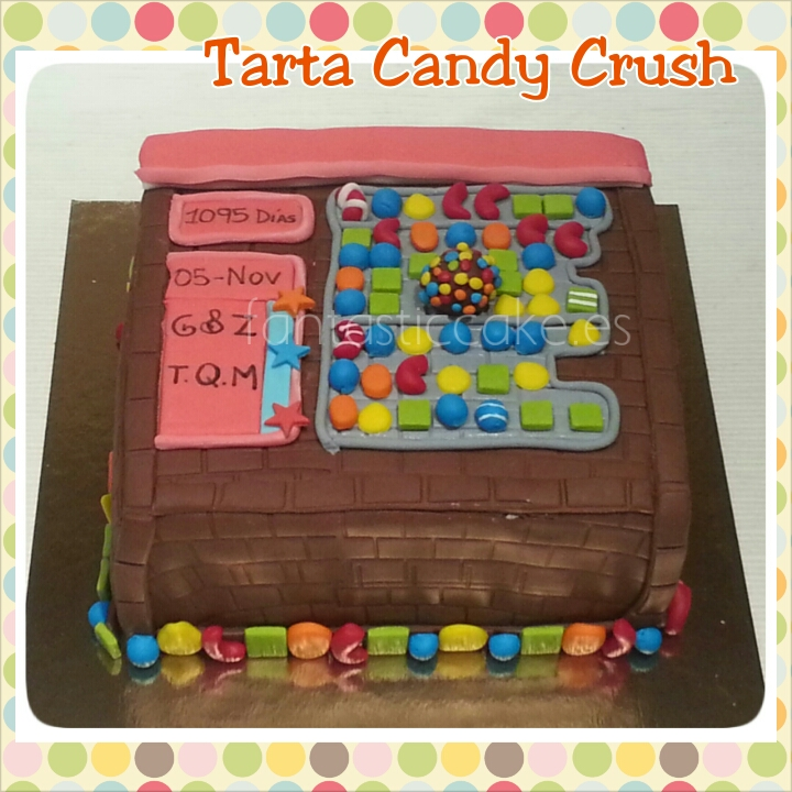 Tarta de Candy Crush